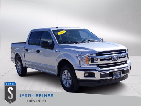 Pre-Owned 2018 Ford F-150 XL RWD Crew Cab Pickup