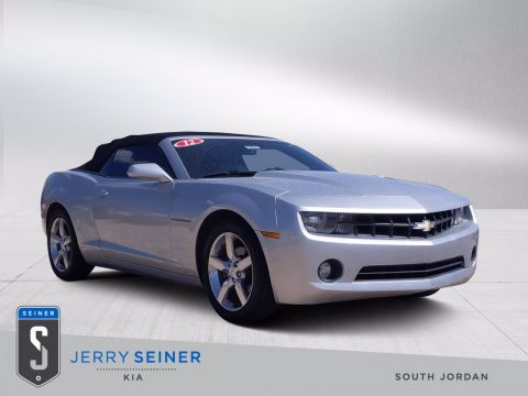 Pre-Owned 2012 Chevrolet Camaro 2LT RWD Convertible