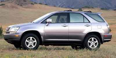 Pre-Owned 2001 Lexus RX 300 300 4WD Sport Utility